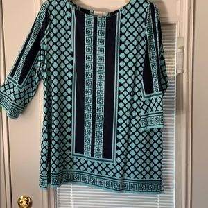 Charter cable blouse